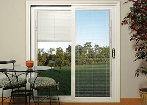 patio door with blinds1