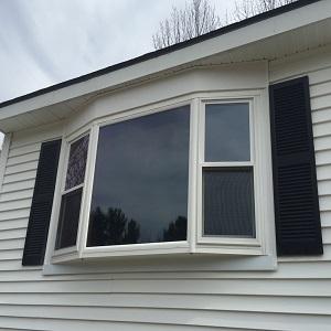 after window installation