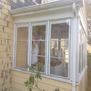 before window installation